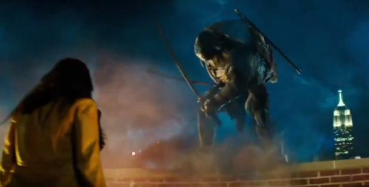 Teenage Mutant Ninja Turtles movie trailer screencap