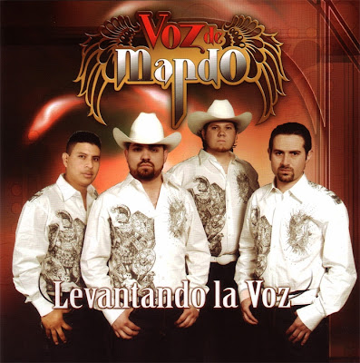 Grupo Voz De Mando - Levantando La Voz (Disco / Album 2009)