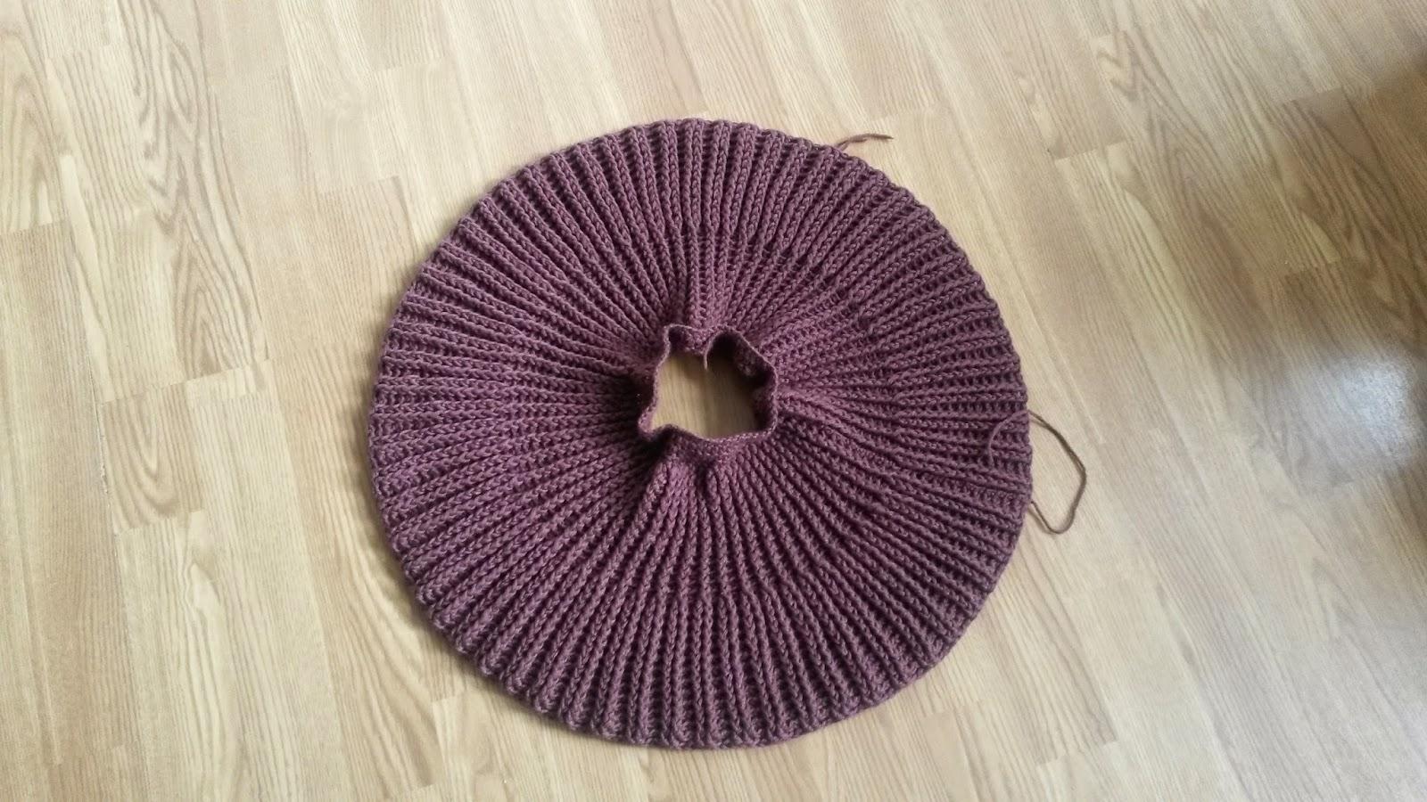 Crocheted version of Pickles' Baggy Bolero