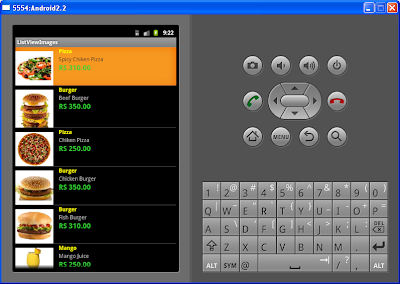 Android List View Example