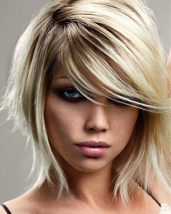 Фото причёски колорирование светлые 123