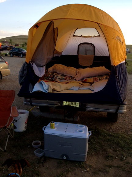 Dog Ramp For Truck >> Tents for Trucks   Camp Jackalope
