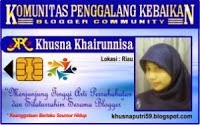 ID Card KPK Blogger Community