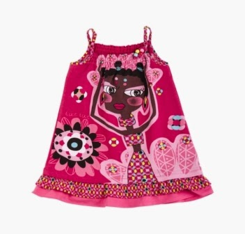Girls Sundress - Tuc Tuc Tribal Patch