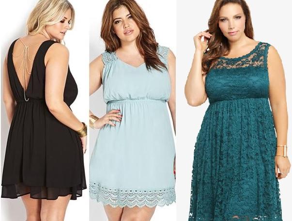 Modelos de vestidos soleros para gorditas