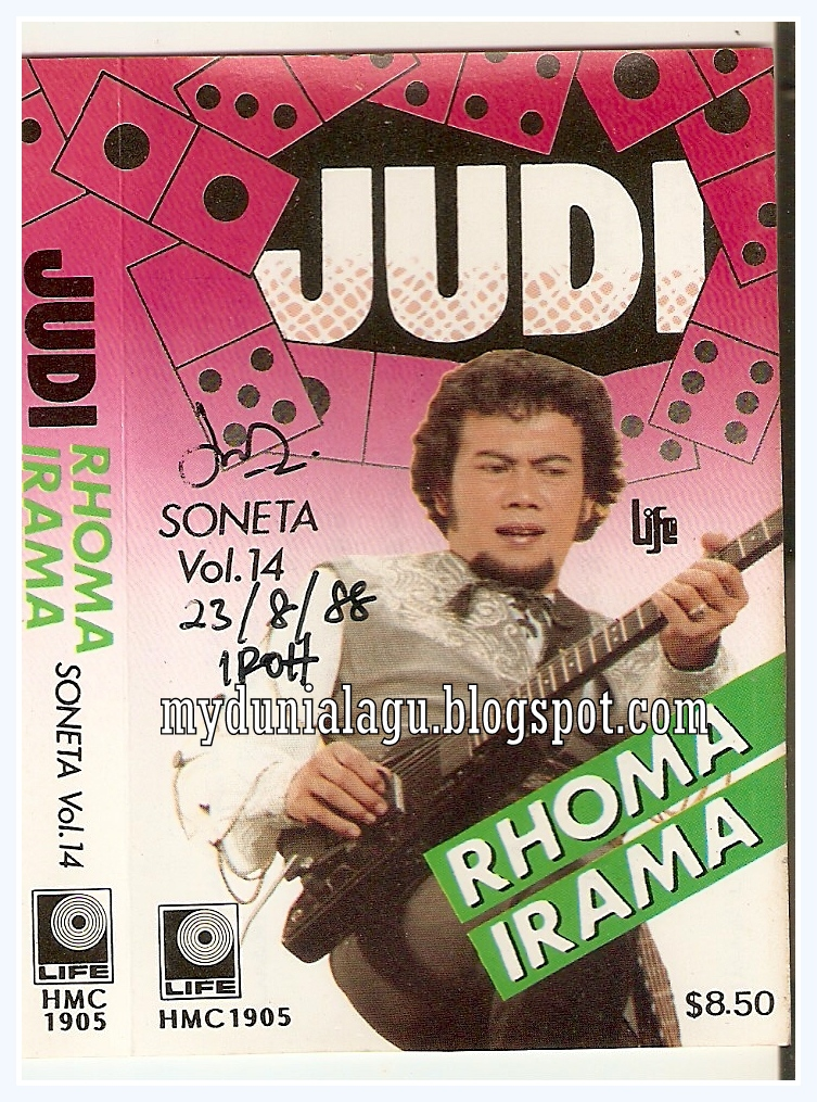 Cover Single Judi Rhoma Irama
