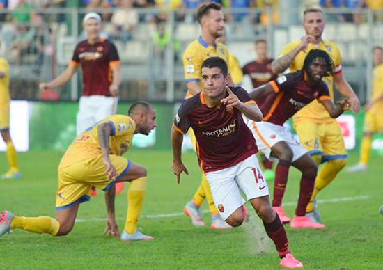 Frosinone 0 x 2 Roma - Campeonato Italiano(Calcio) 2015/16