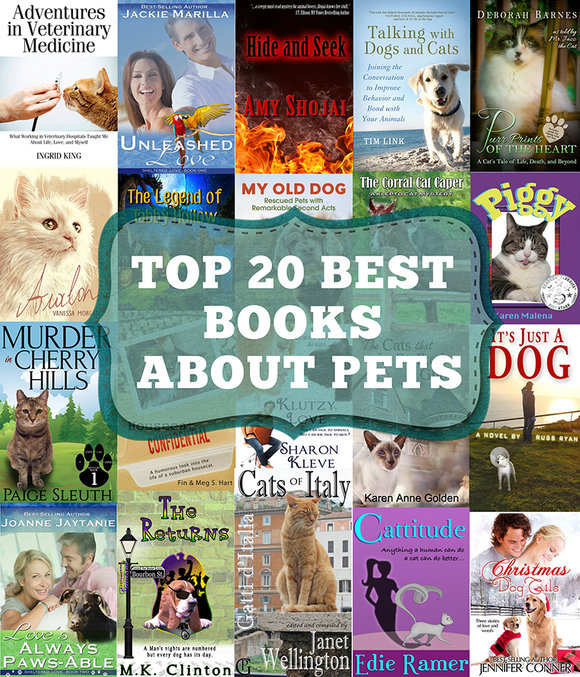 top 20 best books about pets