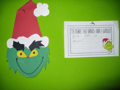 Happy Grinch Day!  The First Grade Parade