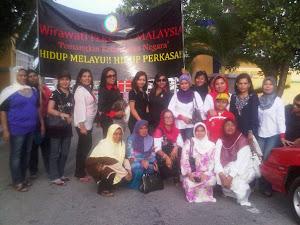 Rombongan Wirawati ke Perhimpunan Melayu Kedah
