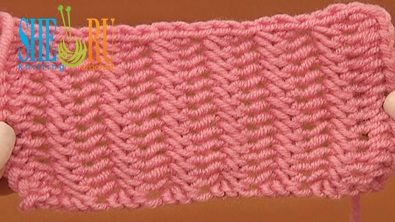 Sheruknitting Double Sided Knit Stitch Pattern Tutorial 20