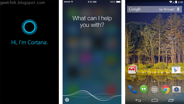Cortana Vs. The Competition