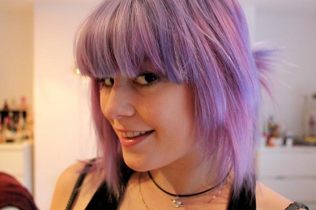 bleach london - parma violets hair