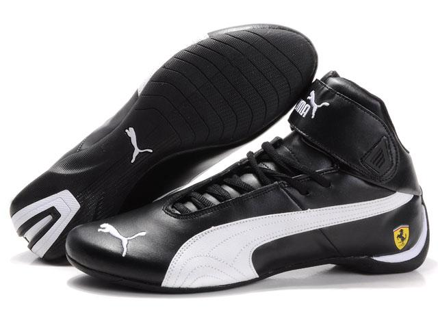 Fashion Kik Black Puma Shoes For Men