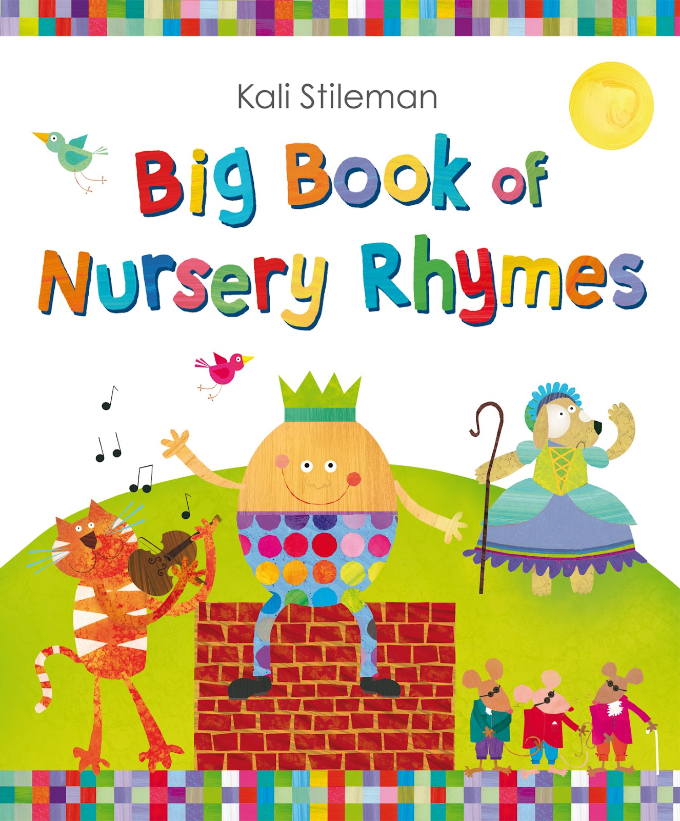 Book Cover Nursery Art : Fiction fascination big book of nursery rhymes by kali