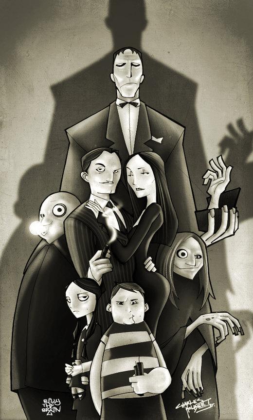 KidNotorious' Addams Family por billythebrain
