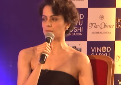Kangana Ranaut has thrown light on what girls go through during their struggling years in Bollywood.  Speaking at the launch of journalist Barkha Dutt's book, This Unquiet Land, she told a shocked audience that she was stalked and beaten up by a man from the industry.