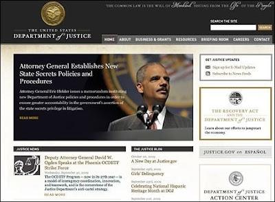 Laman web Jabatan Kehakiman AS kena godam selepas FBI menyita Megaupload