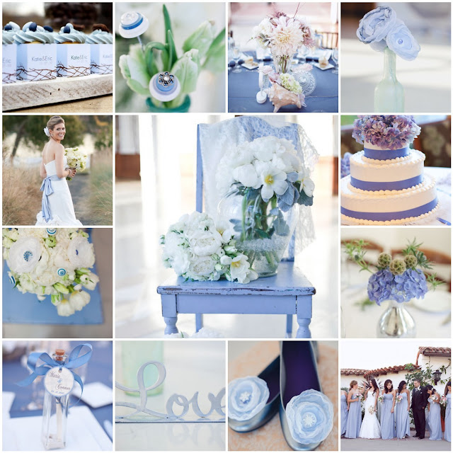 periwinkle wedding