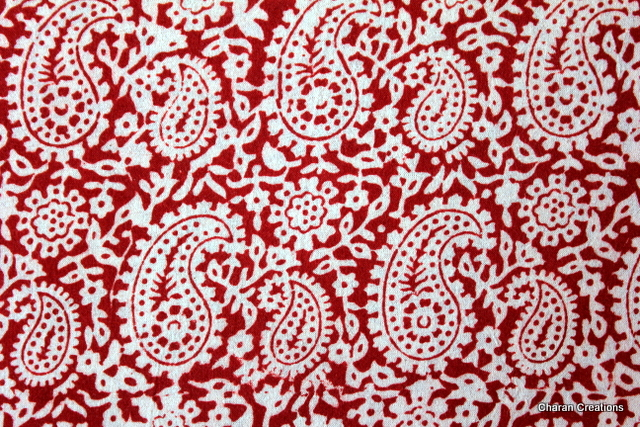 Charancreations traditional indian craft of hand block for Fabric printing