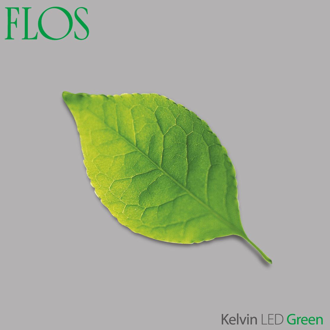 modern interior design kelvin led green mode led flos. Black Bedroom Furniture Sets. Home Design Ideas