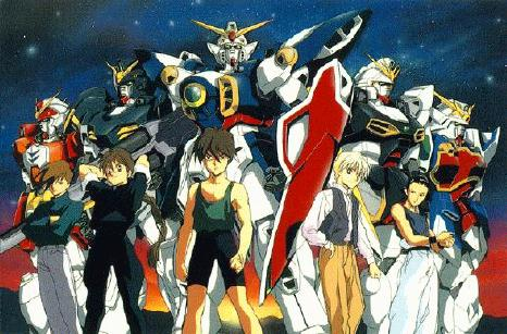 Gundam Wing - Dublado Download - TokusatsuS - Downloads de Tokusatsu