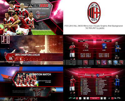All Mods Graphic AC Milan PES 2013 by Jazztc
