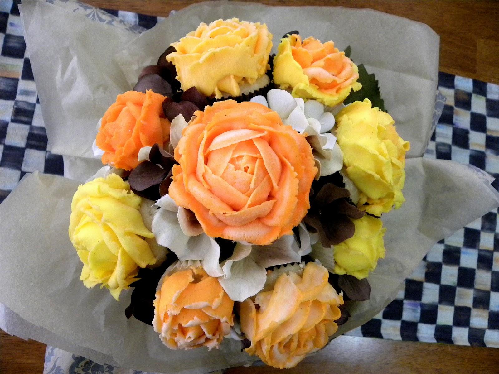 Rose Cupcake Bouquets | BlakeyCakes Cakes & Cupcakes