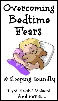 Overcome fear of the dark and other childhood fears