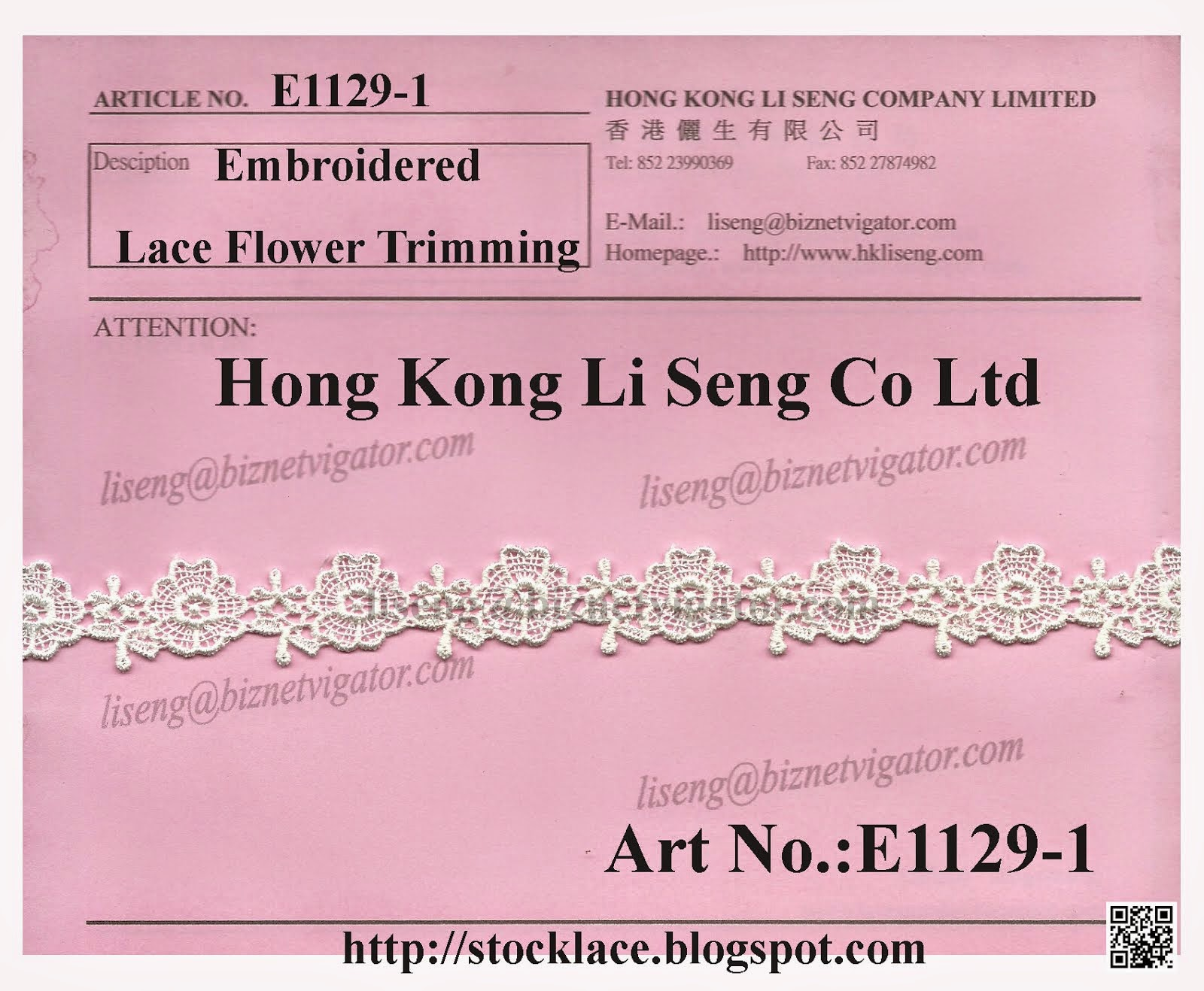 Stock Lace Trims For Ready Clothes to Increase Product Value