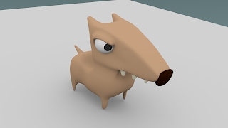 cartoon 3d dog1