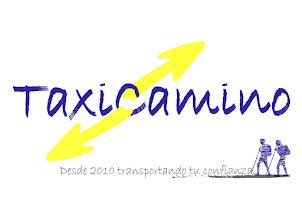 Logo conmemorativo X aniversario Taxicamino