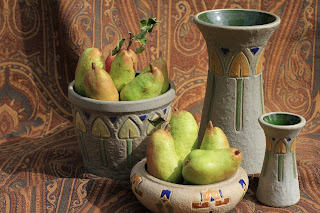 Roseville Mostique and Pears