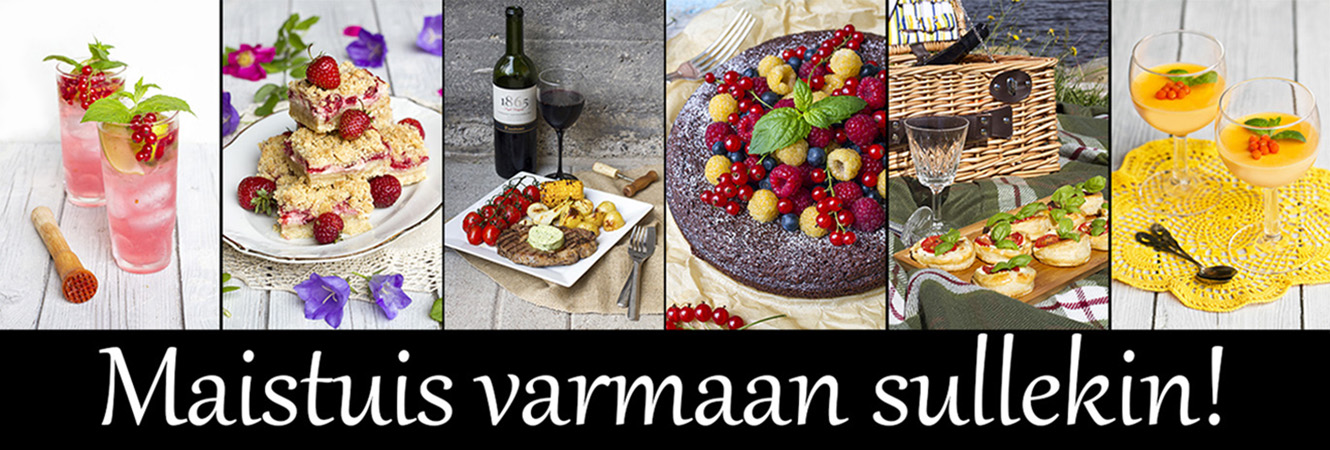 Maistuis varmaan sullekin!
