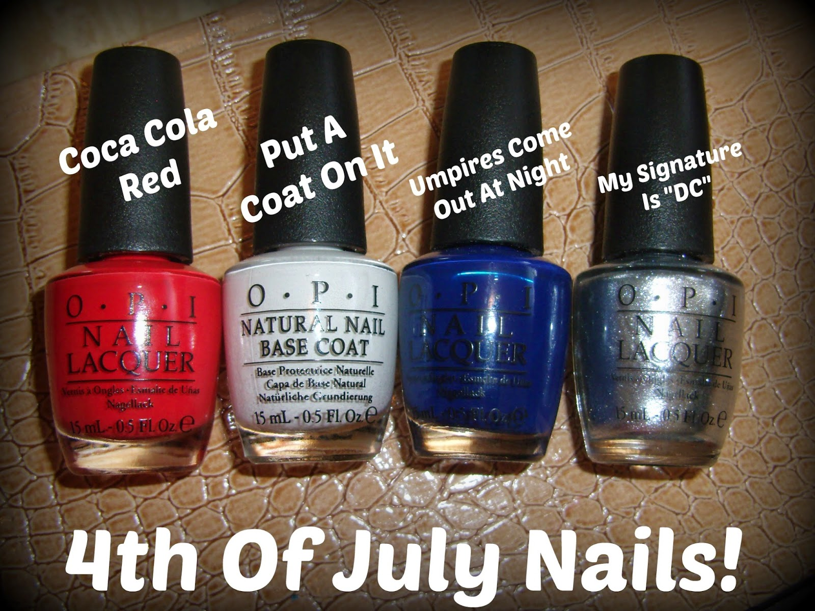 Obsessive Cosmetic Hoarders Unite 4th Of July Nail Art