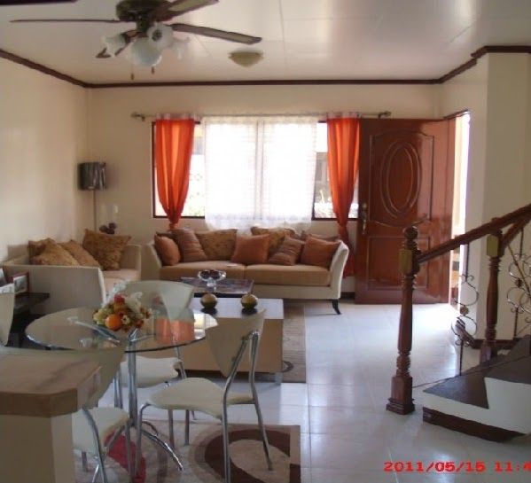 Home interior designs of royal residence iloilo houses by for Living room designs for small houses philippines