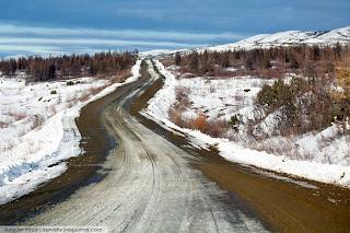 Weg in Kolyma: uithoek van Stalins dodenkampen