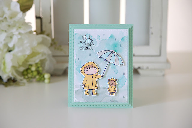 Stamp Highlight, Chance Of Rain--Mama Elephant