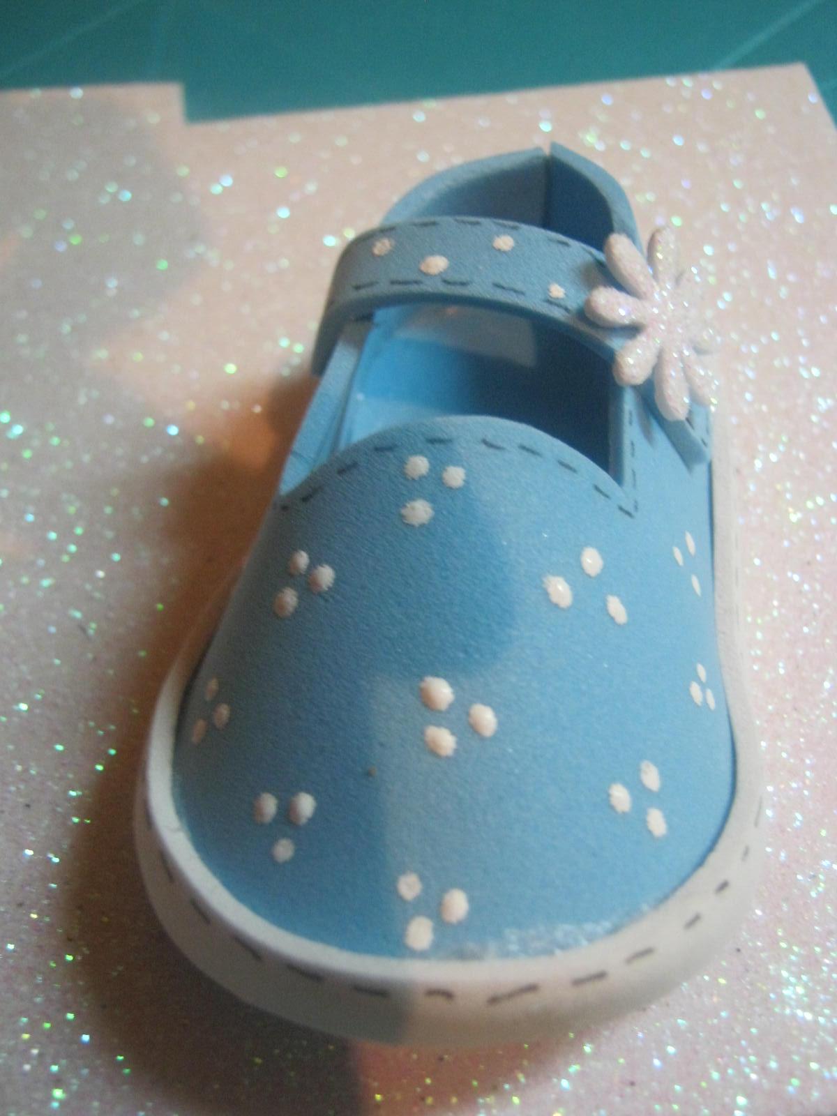 Moldes De Zapatitos Para Baby Shower