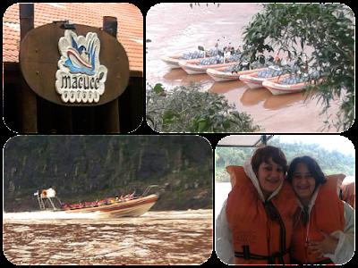 Passeio de barco Macuco Safari, em Foz do Iguaçu - PR