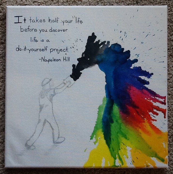 Pinterest follower crayon art with quotes revisited solutioingenieria Image collections