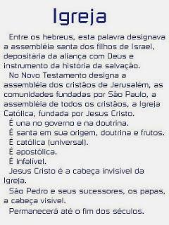 SANTA IGREJA CATÓLICA APOSTÓLICA ROMANA