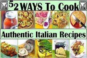 LET's COOK ITALIAN!  and Buon Appetito