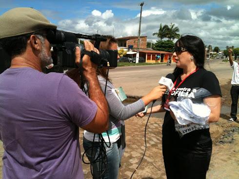 Blitz Caravana Todos Contra o Crack e a Pedofilia em Laranjeira