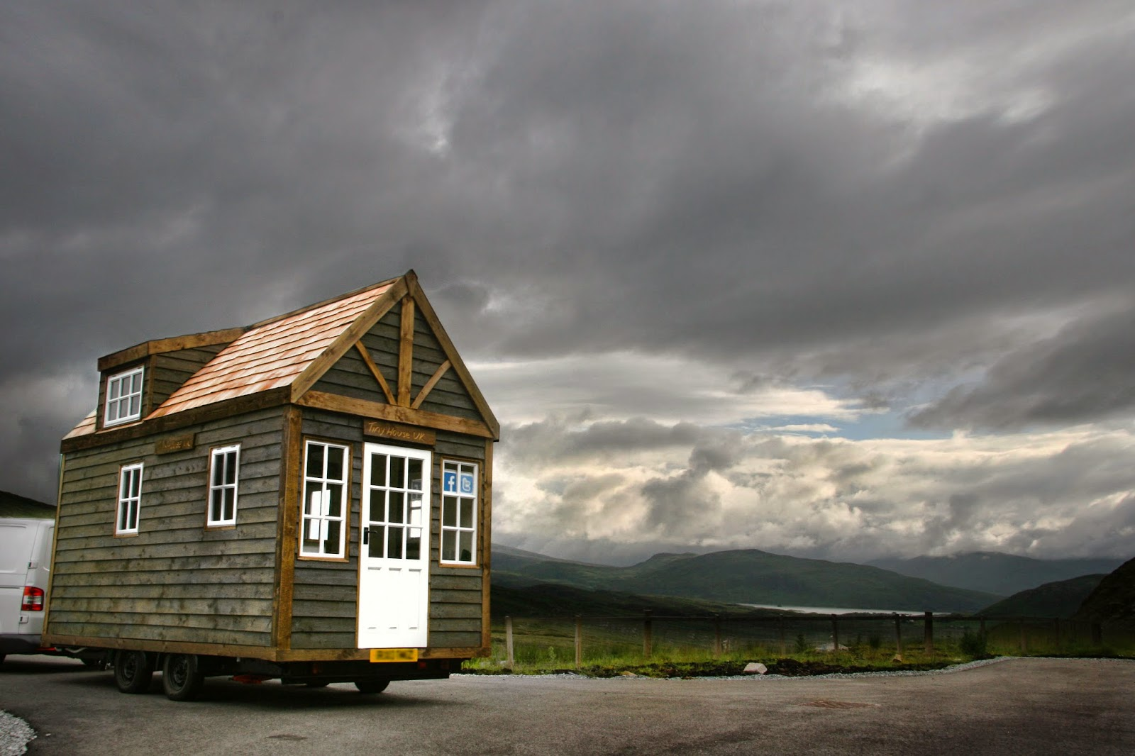Coolest Cabins Tiny House Scotland