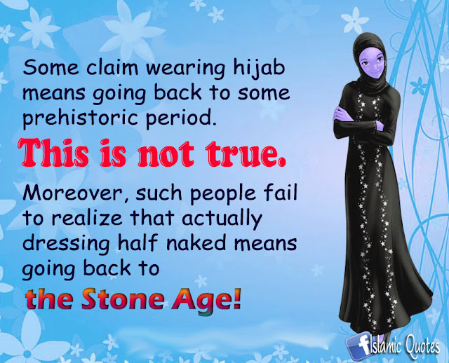 Does Wearing Hijab Means Going Back To Stone Age?