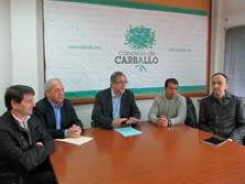 Xuntanza dos alcaldes contra a reforma xudicial © Concello de Carballo