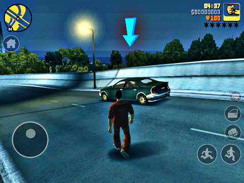 android apk+data: grand theft auto iii