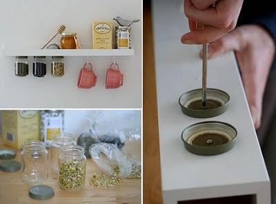 Cozinha: Potinhos para Organizar...