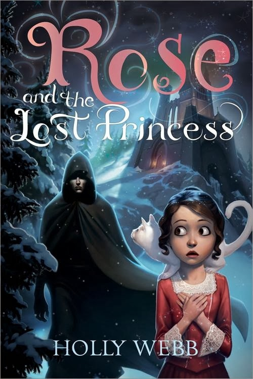 rose and the lost princess by holly webb book cover